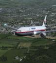 Who has shut down the Boeing 777 in Ukraine?